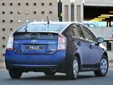 Toyota Prius ZA-spec (ZVW30) 2009–11 images