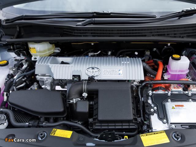 Toyota Prius Plug-In Hybrid Concept US-spec (ZVW35) 2009 images (640 x 480)