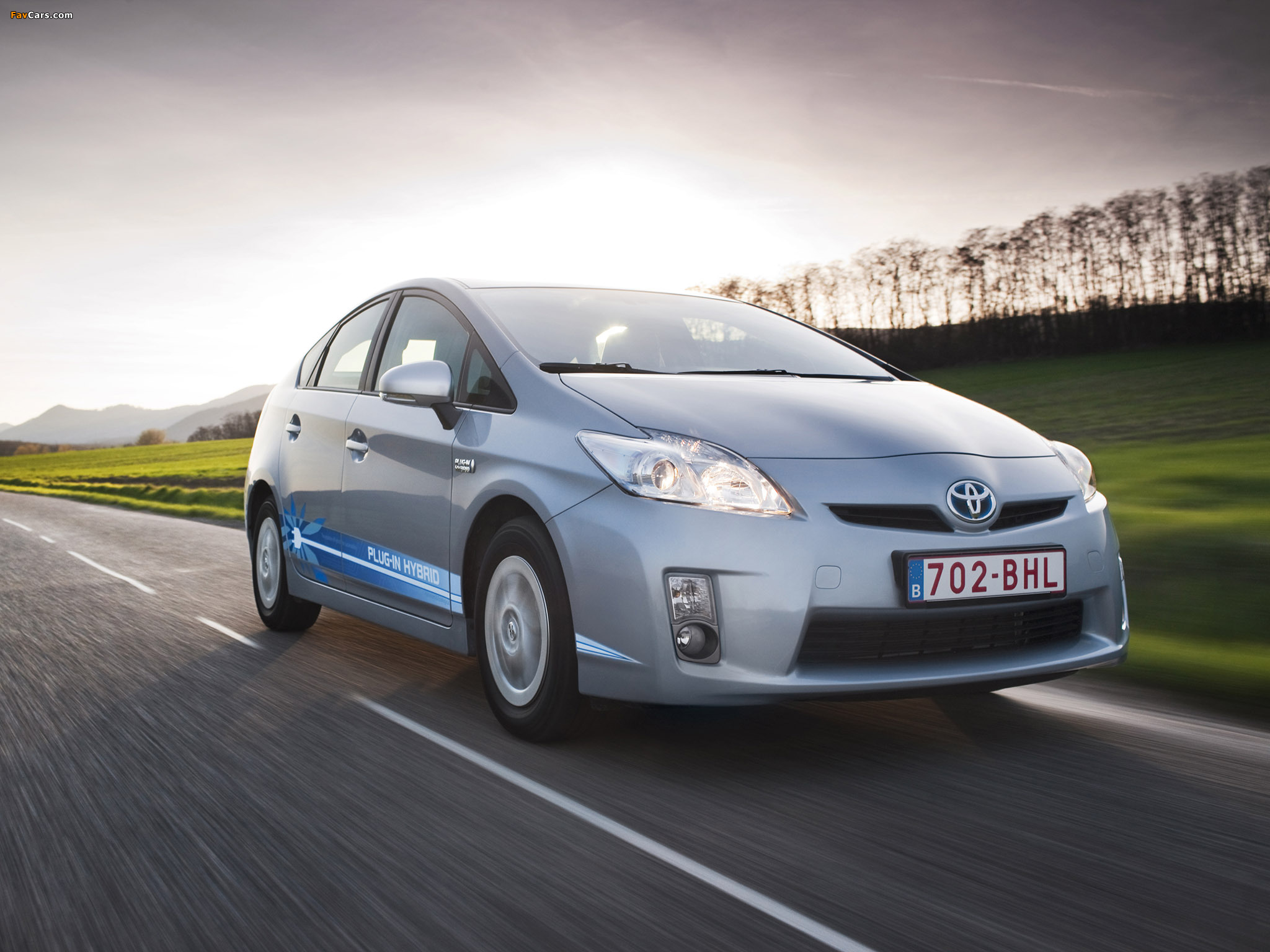 Toyota Prius Plug-In Hybrid Pre-production Test Car EU-spec (ZVW35) 2009–10 images (2048 x 1536)