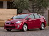 Toyota Prius US-spec (ZVW30) 2009–11 images