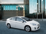 Toyota Prius (ZVW30) 2009–11 photos