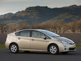 Toyota Prius US-spec (ZVW30) 2009–11 photos