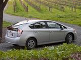 Toyota Prius US-spec (ZVW30) 2009–11 photos