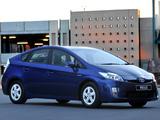 Toyota Prius ZA-spec (ZVW30) 2009–11 photos