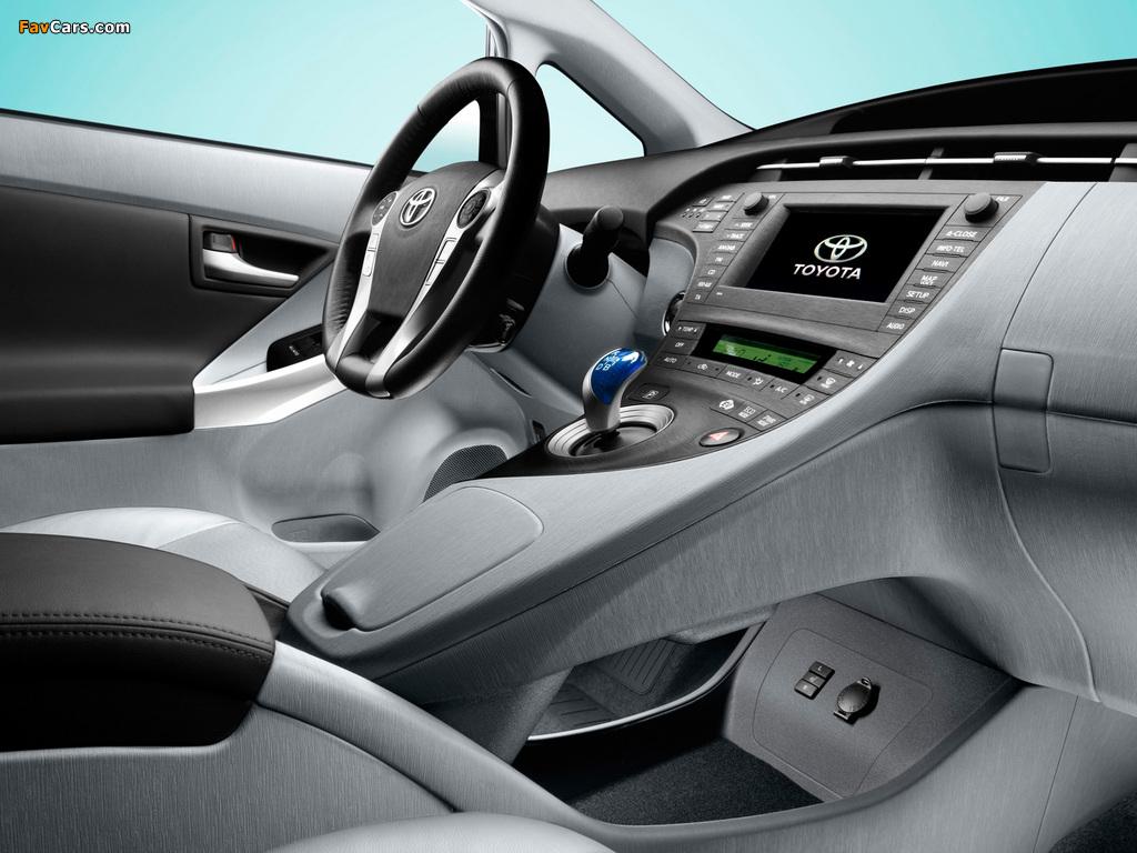Toyota Prius (ZVW30) 2009–11 photos (1024 x 768)