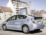 Toyota Prius Plug-In Hybrid Pre-production Test Car EU-spec (ZVW35) 2009–10 photos