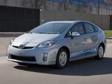 Toyota Prius Plug-In Hybrid Pre-production Test Car US-spec (ZVW35) 2009–10 photos