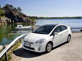 Toyota Prius (ZVW30) 2009–11 pictures