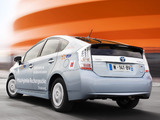 Toyota Prius Plug-In Hybrid Pre-production Test Car EU-spec (ZVW35) 2009–10 pictures
