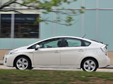 Toyota Prius UK-spec (ZVW30) 2009–11 pictures