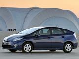 Toyota Prius ZA-spec (ZVW30) 2009–11 pictures