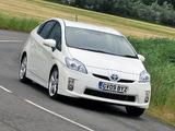 Toyota Prius UK-spec (ZVW30) 2009–11 wallpapers