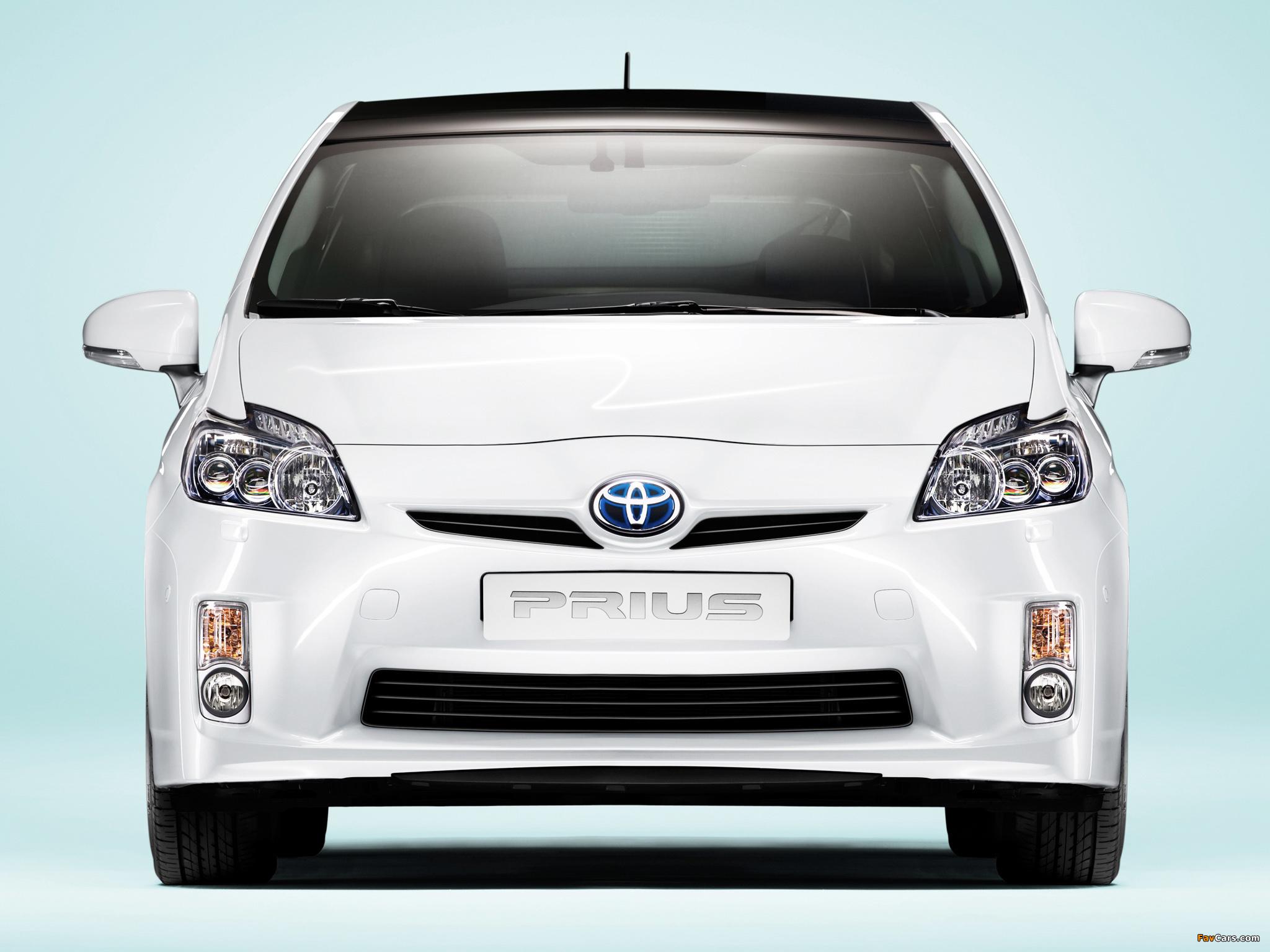 Toyota Prius (ZVW30) 2009–11 wallpapers (2048 x 1536)