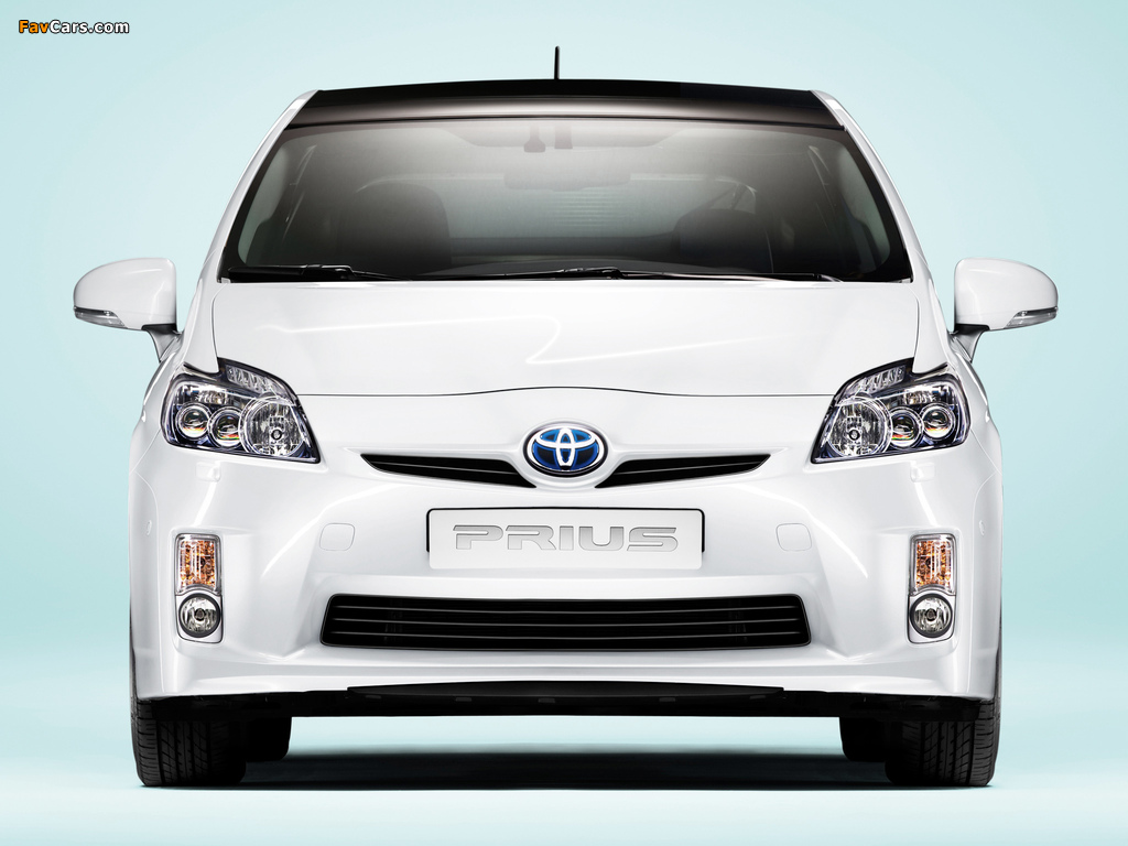 Toyota Prius (ZVW30) 2009–11 wallpapers (1024 x 768)