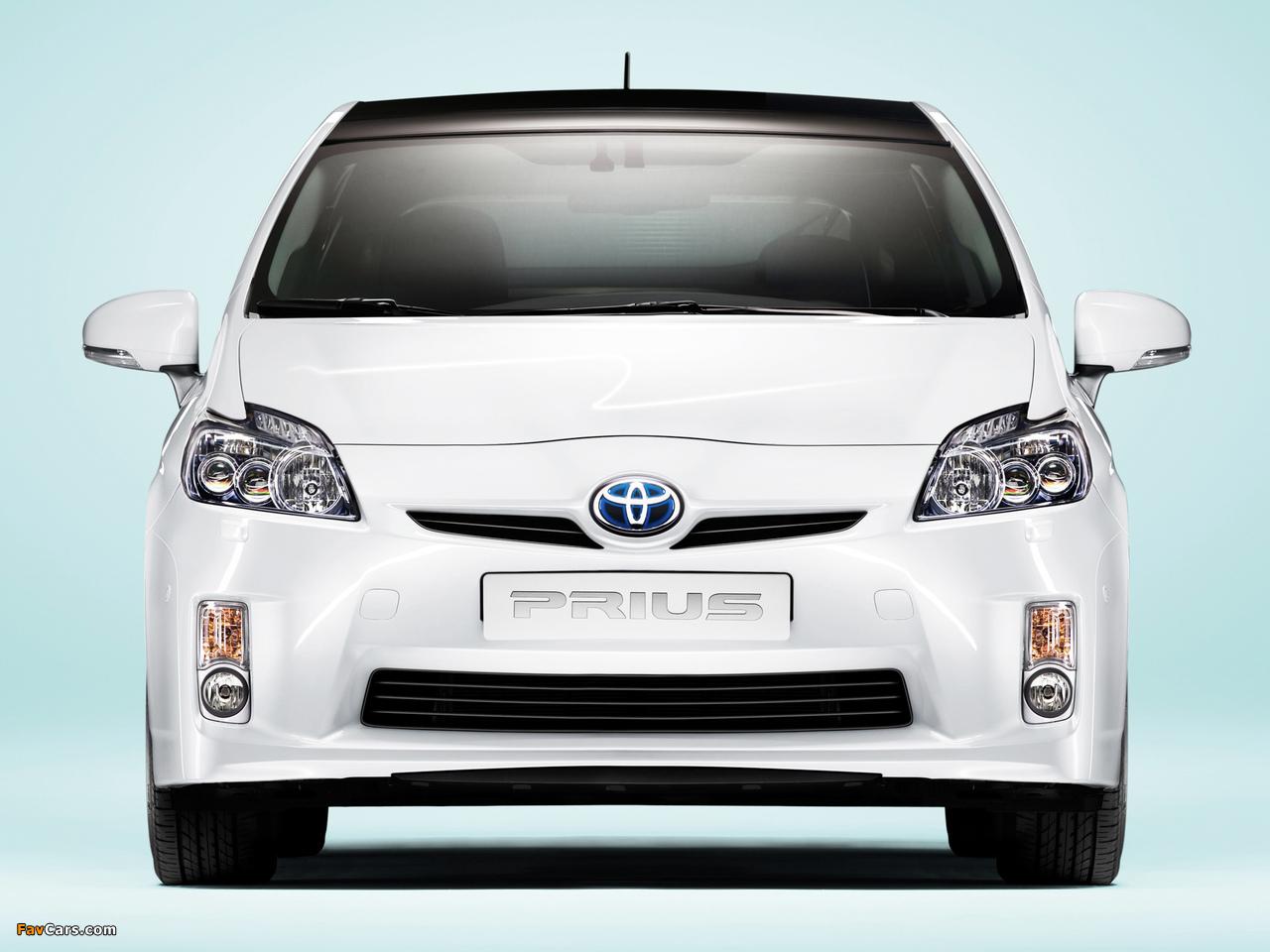 Toyota Prius (ZVW30) 2009–11 wallpapers (1280 x 960)