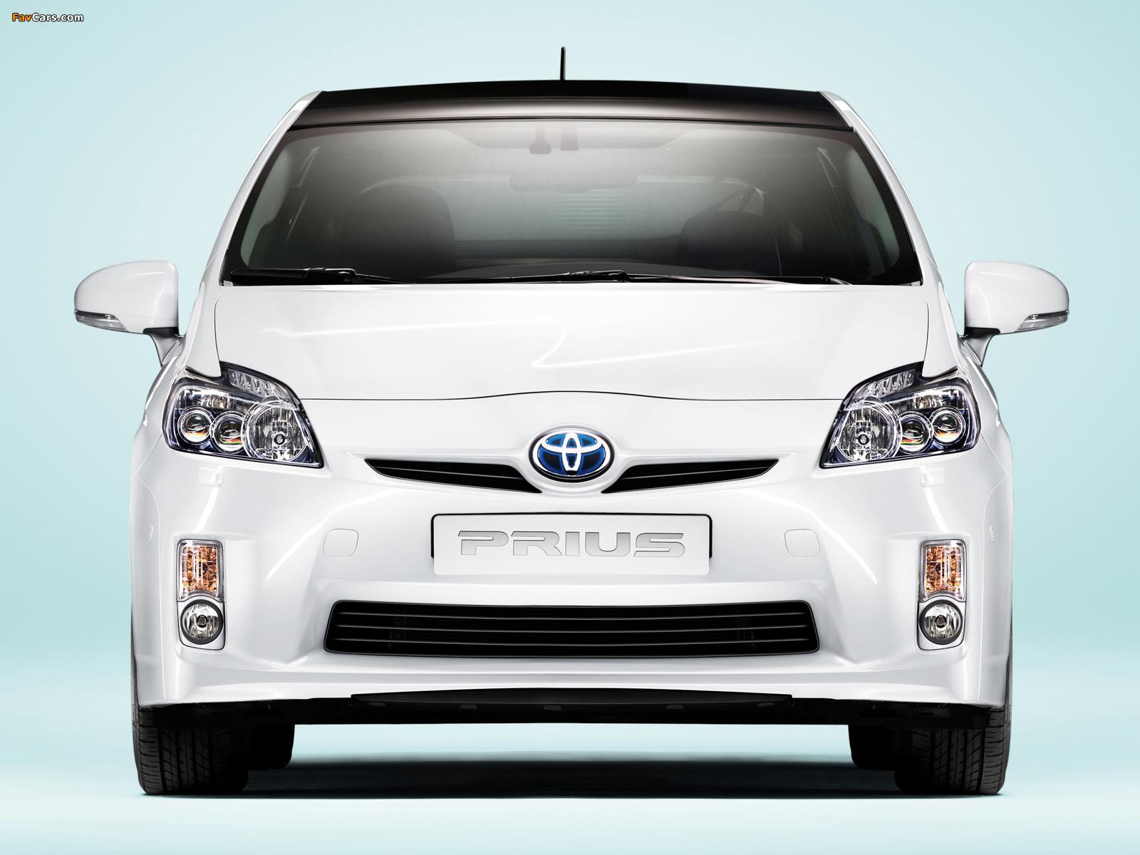 Toyota Prius (ZVW30) 2009–11 wallpapers (1600 x 1200)