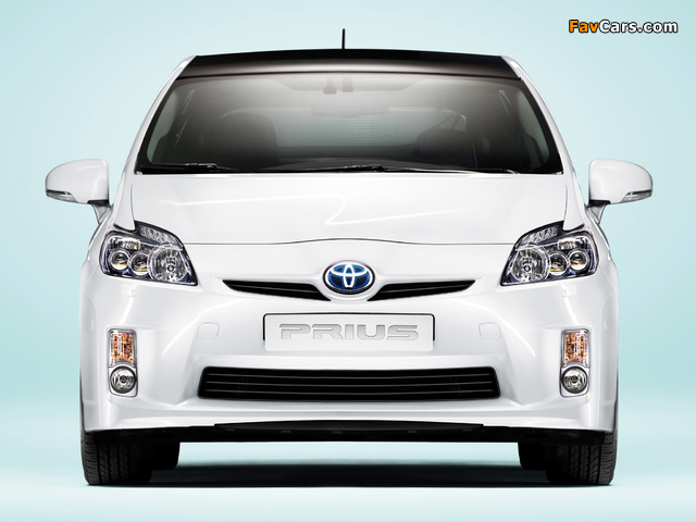 Toyota Prius (ZVW30) 2009–11 wallpapers (640 x 480)