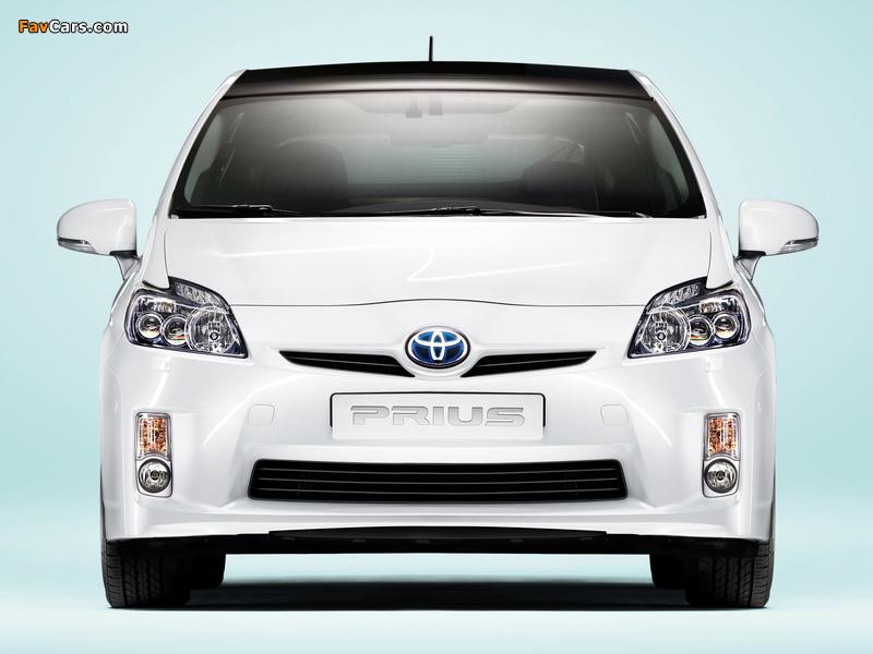 Toyota Prius (ZVW30) 2009–11 wallpapers (800 x 600)