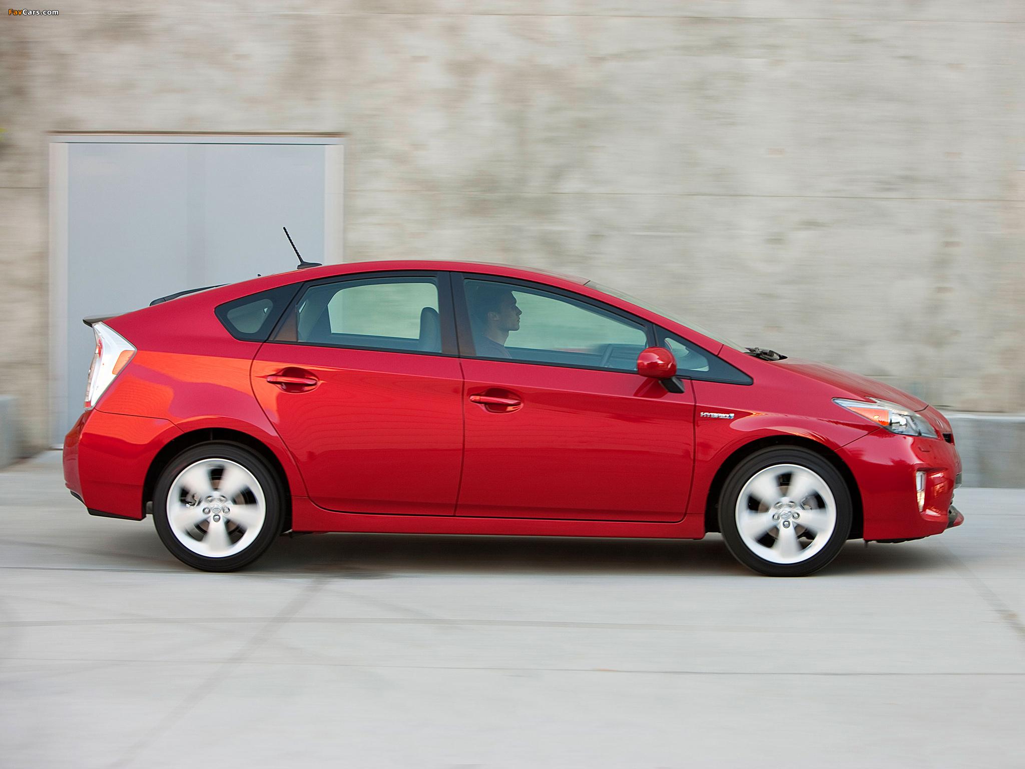Toyota Prius US-spec (ZVW30) 2011 images (2048 x 1536)