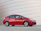 Toyota Prius US-spec (ZVW30) 2011 images