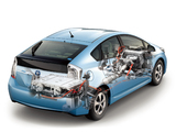 Toyota Prius PHV S (ZVW35) 2011 images