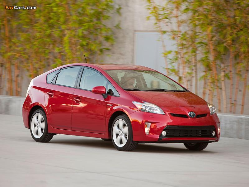 Toyota Prius US-spec (ZVW30) 2011 photos (800 x 600)