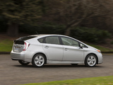Toyota Prius US-spec (ZVW30) 2011 photos