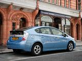 Toyota Prius Plug-In Hybrid UK-spec (ZVW35) 2011 photos