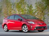 Toyota Prius US-spec (ZVW30) 2011 pictures