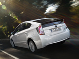 Toyota Prius (ZVW30) 2011 wallpapers