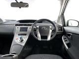 Toyota Prius Plug-In Hybrid UK-spec (ZVW35) 2011 wallpapers