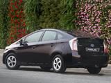 Toyota Prius ZA-spec (ZVW30) 2012 images