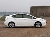 Toyota Prius UK-spec (ZVW30) 2012 pictures