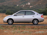 Toyota Prius US-spec (NHW11) 2000–03 wallpapers