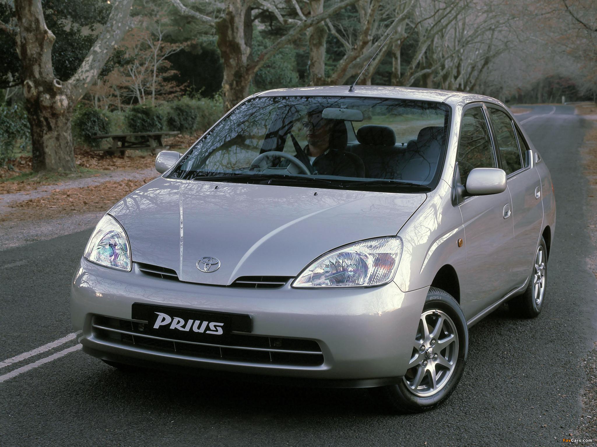 Toyota Prius AU-spec (NHW11) 2001–03 wallpapers (2048 x 1536)