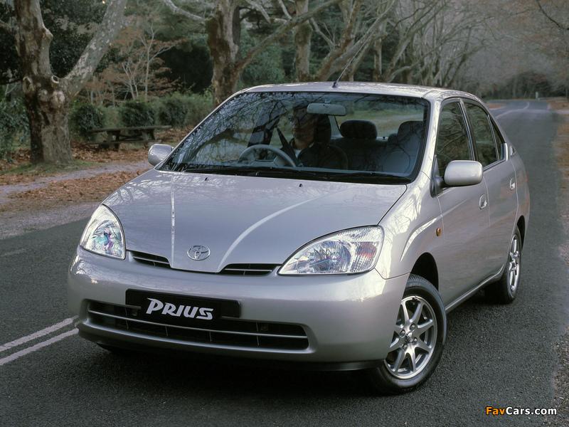 Toyota Prius AU-spec (NHW11) 2001–03 wallpapers (800 x 600)