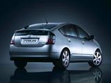 Toyota Prius (NHW20) 2003–09 wallpapers