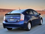 Toyota Prius ZA-spec (ZVW30) 2009–11 wallpapers