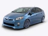 Toyota Prius Aerius & Aemulus Concept (ZVW30) 2009 wallpapers