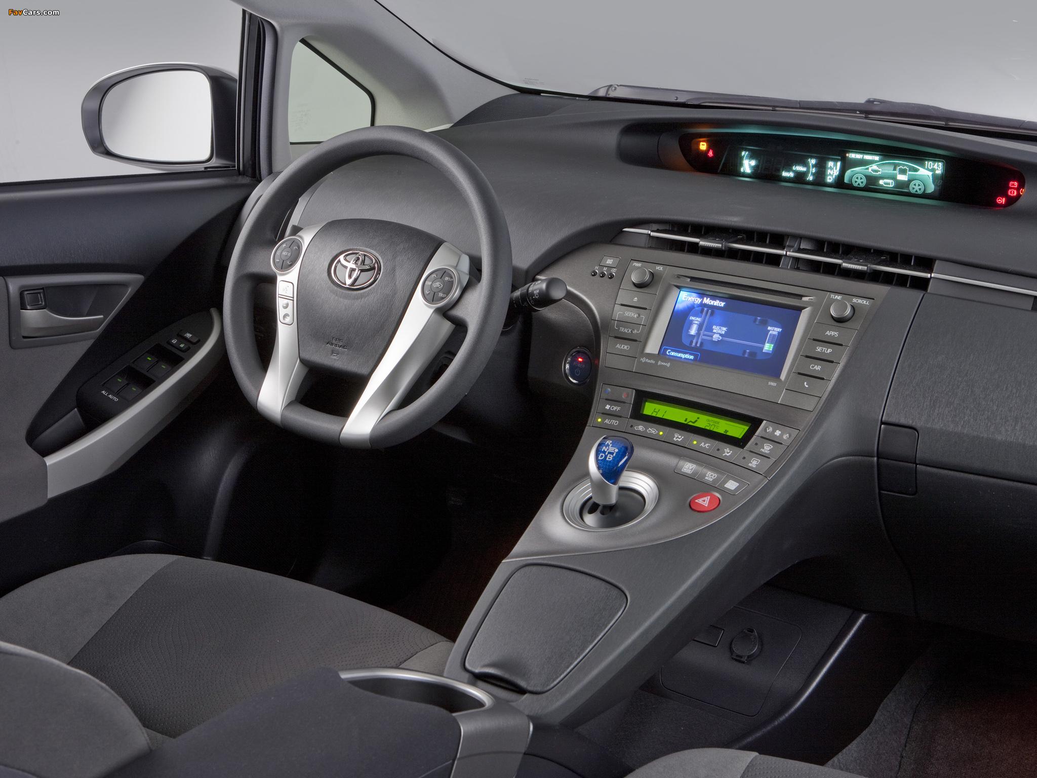 Toyota Prius US-spec (ZVW30) 2011 wallpapers (2048 x 1536)