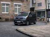 Pictures of Toyota ProAce Van Compact UK-spec 2017