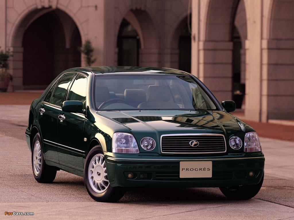 Toyota Progres (JCG10) 1998–2001 photos (1024 x 768)
