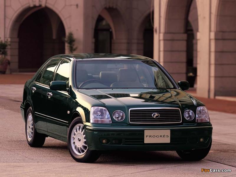 Toyota Progres (JCG10) 1998–2001 photos (800 x 600)