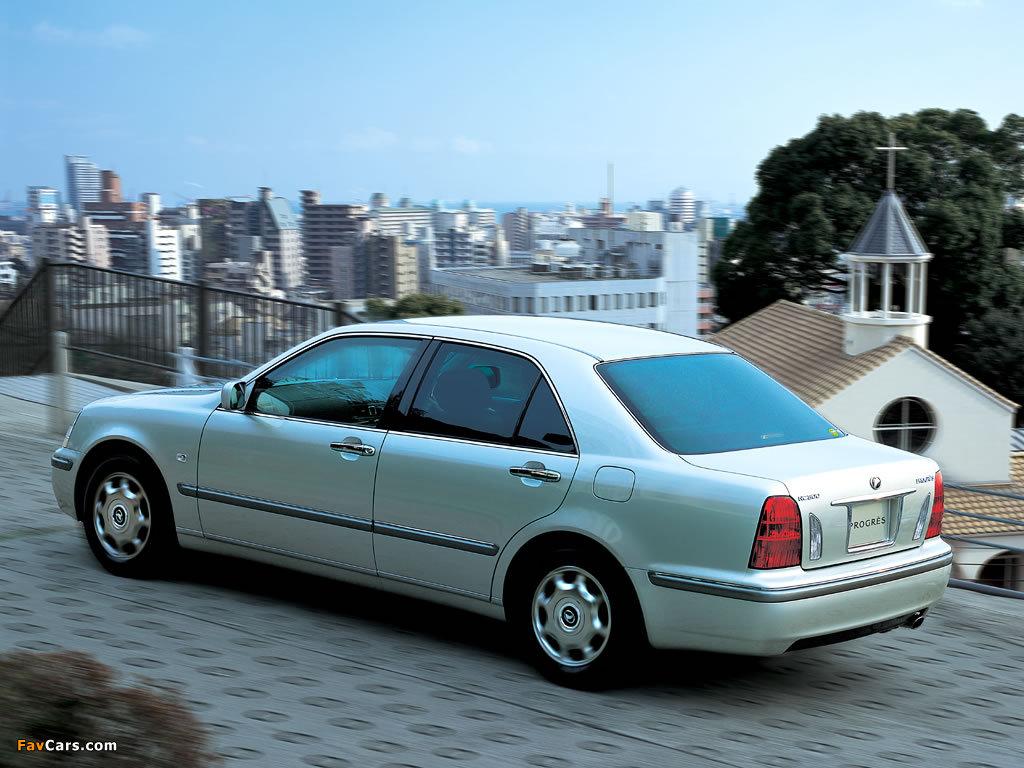 Toyota Progres (JCG10) 2001–07 photos (1024 x 768)