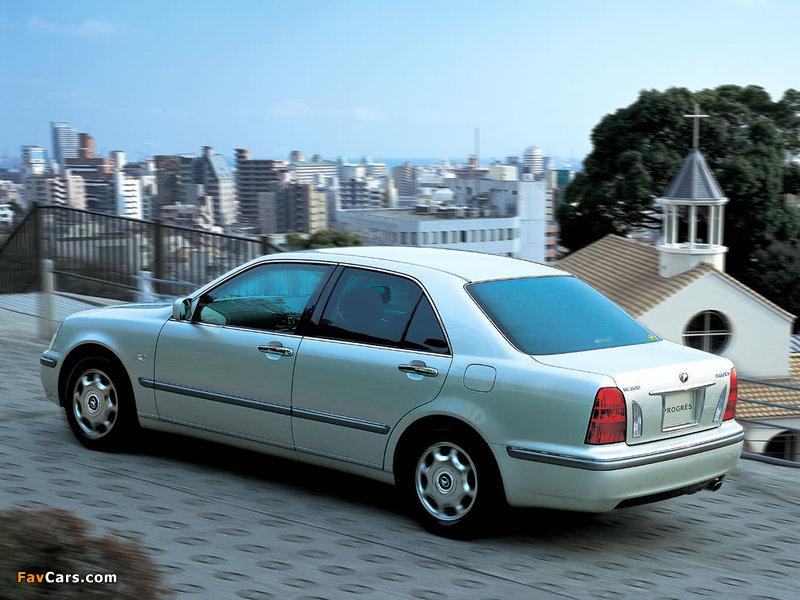 Toyota Progres (JCG10) 2001–07 photos (800 x 600)