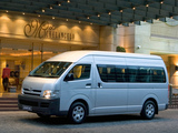 Toyota Quantum High Roof Bus 2004 photos