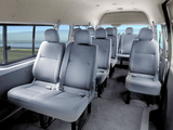Toyota Quantum High Roof Bus 2004 wallpapers