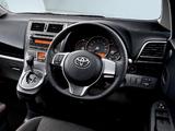 Toyota Ractis S 2010–11 wallpapers