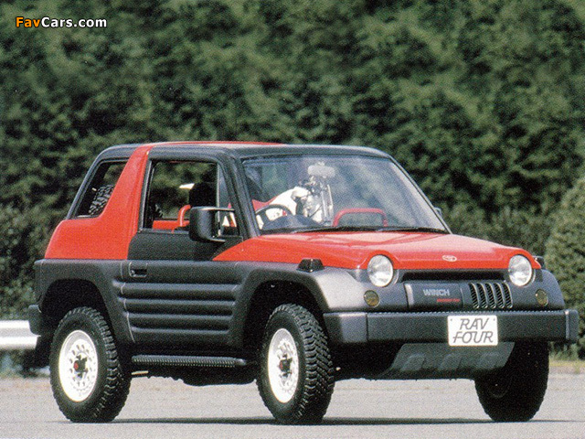 Images of Toyota RAV Four Prototype 1989 (640 x 480)