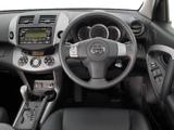 Images of Toyota RAV4 AU-spec 2006–08